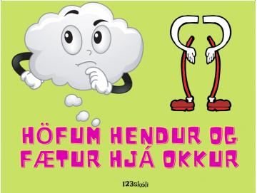 Höfum hendur og fætur hjá okkur - Amboð