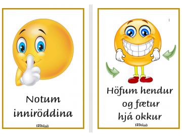 Inniröddin og hendur og fætur hjá sér - Amboð