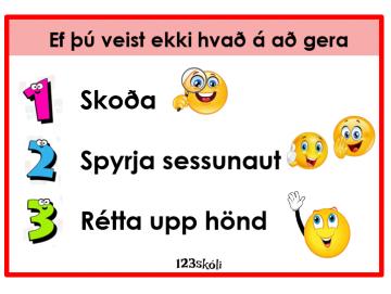 Hvað á ég að gera?