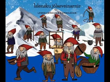 Íslensku jólasveinarnir - lestur og skilningur