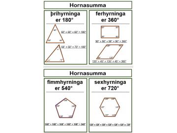 Hornasumma