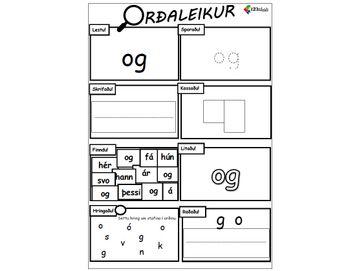 Orðaleikur - OG