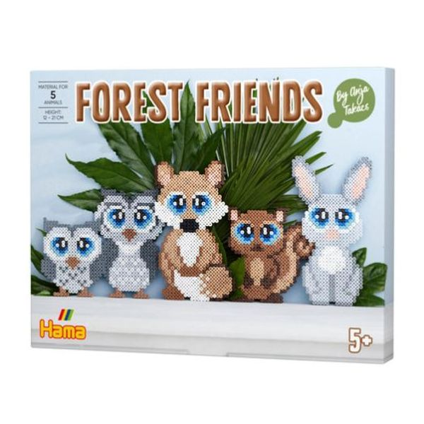 Hama perlusett, Forest Friends by Anja Takacs