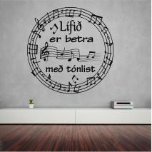 Lífið er betra með tónlist
