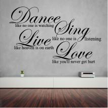 Dance Sing Love