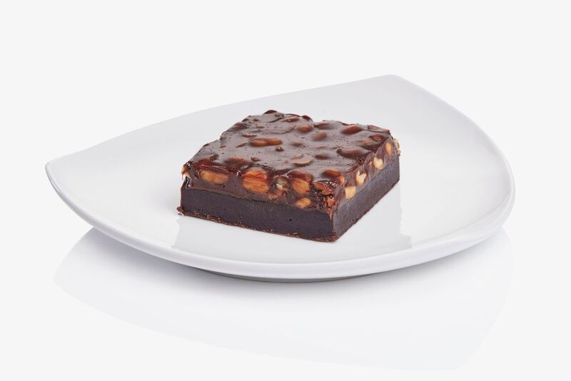 Brownies með salthnetum