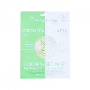 THE CREME SHOP FUSION SHEET MASK - GREEN TEA