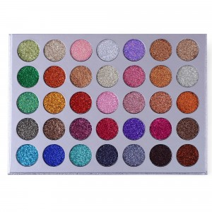 ES21 35 Color Galaxy Stardust Shimmer Glitter Powder Kit