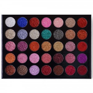 ES17 35 Color Galaxy Stardust Shimmer Glitter Powder Kit
