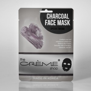 Charcoal face mask- The Creme Shop