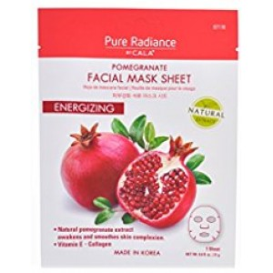 CALA PURE RADIANCE FACIAL MASK SHEETS