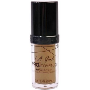 Pro Coverage Illuminating Foundation - Tan