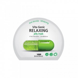 BANOBAGI JELLY-MASK RELAXING VITAMIN B/ Relaxing