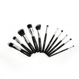 Dark Night 12 pc Black Brush Set