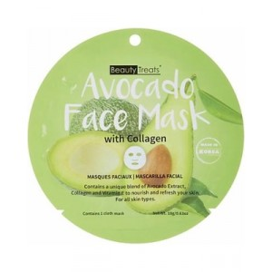 Beauty Treats Face Mask with collagen Avocado