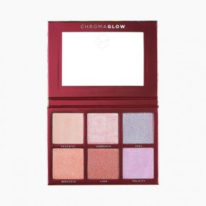 Chroma Glow Shimmer & Highlight Palette