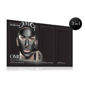 OMG! Man In Black Peel Off Mask Kit
