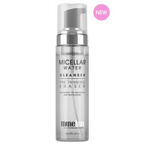 Micellar water cleanser-pre tanning eraser