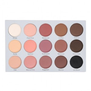 ES25 15 Color Smoky Rose Eyeshadow