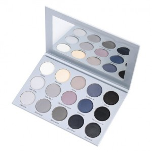 ES24 15 Color Smoky Grey Eyeshadow