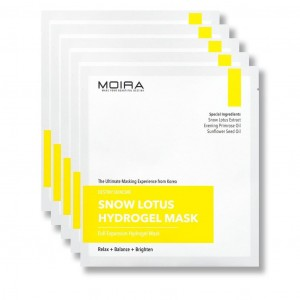 MOIRA SNOW LOTUS HYDROGEL MASK SET