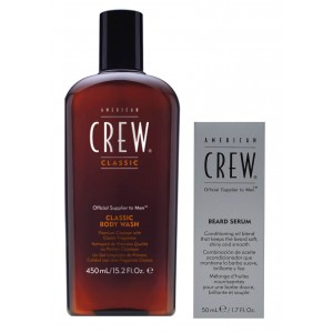 Beard serum og classic body wash