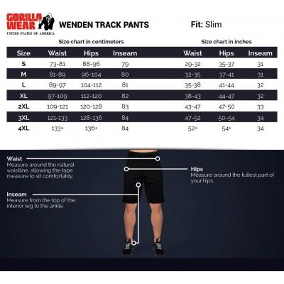 wenden-pants-sizechart