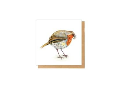 Charlotte Nicolin - Tækifæriskort Fugl Robbie