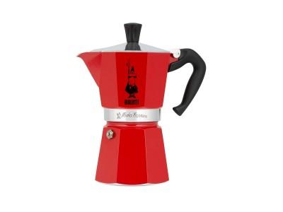 Bialetti - Mokka Espresso Kanna f/6 bolla Red