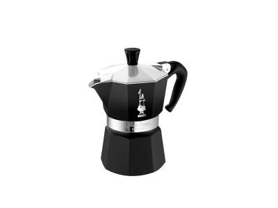 Bialetti - Mokka Espresso Kanna f/6 bolla Black