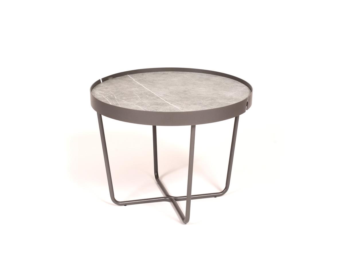 Dexo - Trino Sófaborð Ø: 60cm Grey