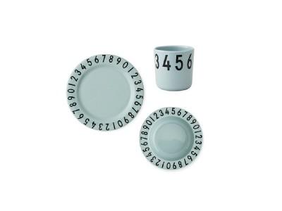 Design Letters - The Numbers Barnasett 3stk