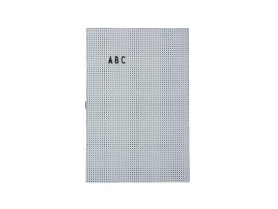 Design Letters - Skilaboðatafla A3 Light Grey