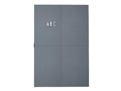 Design Letters - Skilaboðatafla A3 Dark Grey