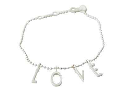 Design Letters - L-O-V-E Armband Silfur
