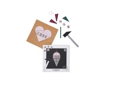 Design Letters - Little Hammer Artist Púsl Ice Cream