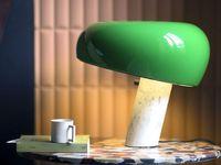 Flos - Snoopy Borðlampi Green image