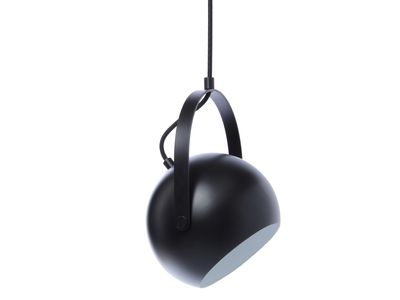 Frandsen - Ball Loftljós með Handfangi Ø:25cm Black Matt