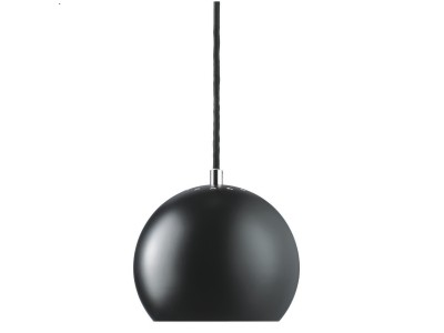 Frandsen - Ball Loftljós Ø:18cm Black Matt
