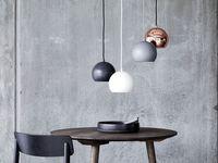 Frandsen - Ball Loftljós Ø:18cm Light Grey image