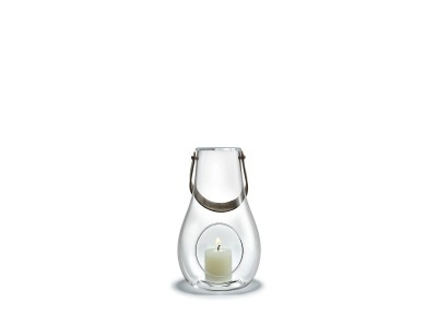 Holmegaard - Design With Light Kertalukt 25cm Clear