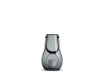 Holmegaard - Design With Light Kertalukt 25cm Smoke