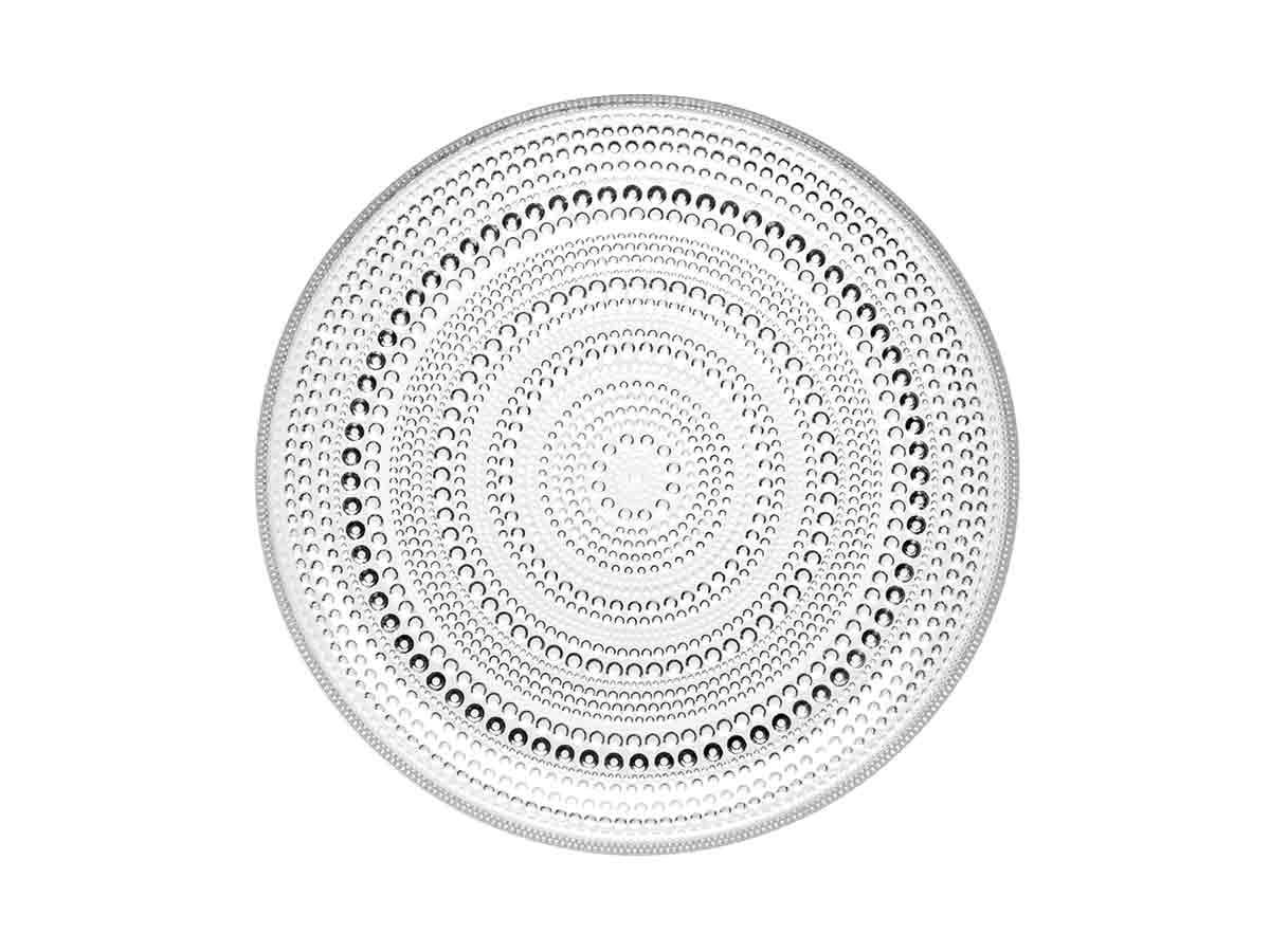 Iittala - Kastehelmi Matardiskur 24,8cm Clear