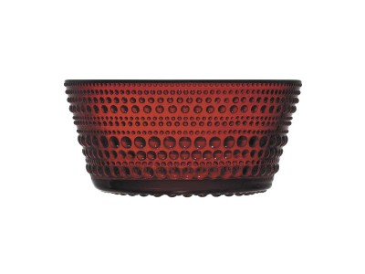 Iittala - Kastehelmi Skál 23cl Cranberry