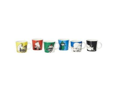 Moomin - Krúsir Mini Classics 6stk
