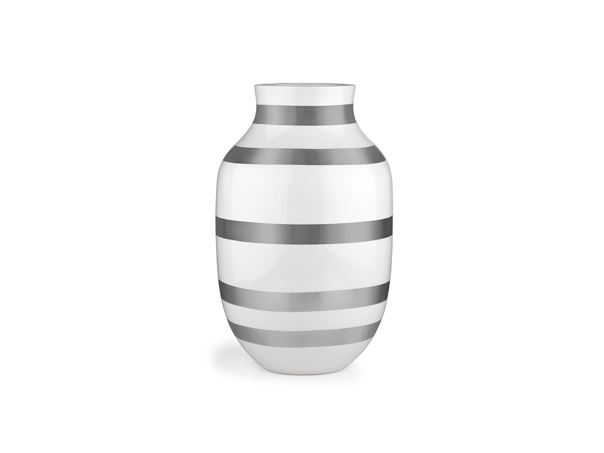 Kähler - Omaggio Vasi 30,5cm Silver