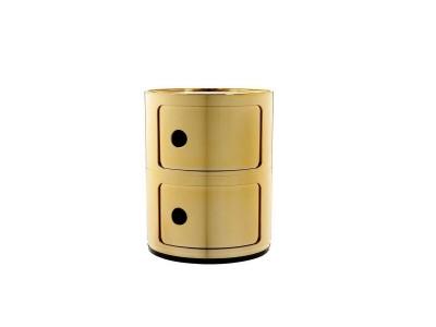 Kartell - Componibili 2 Hæða Gold
