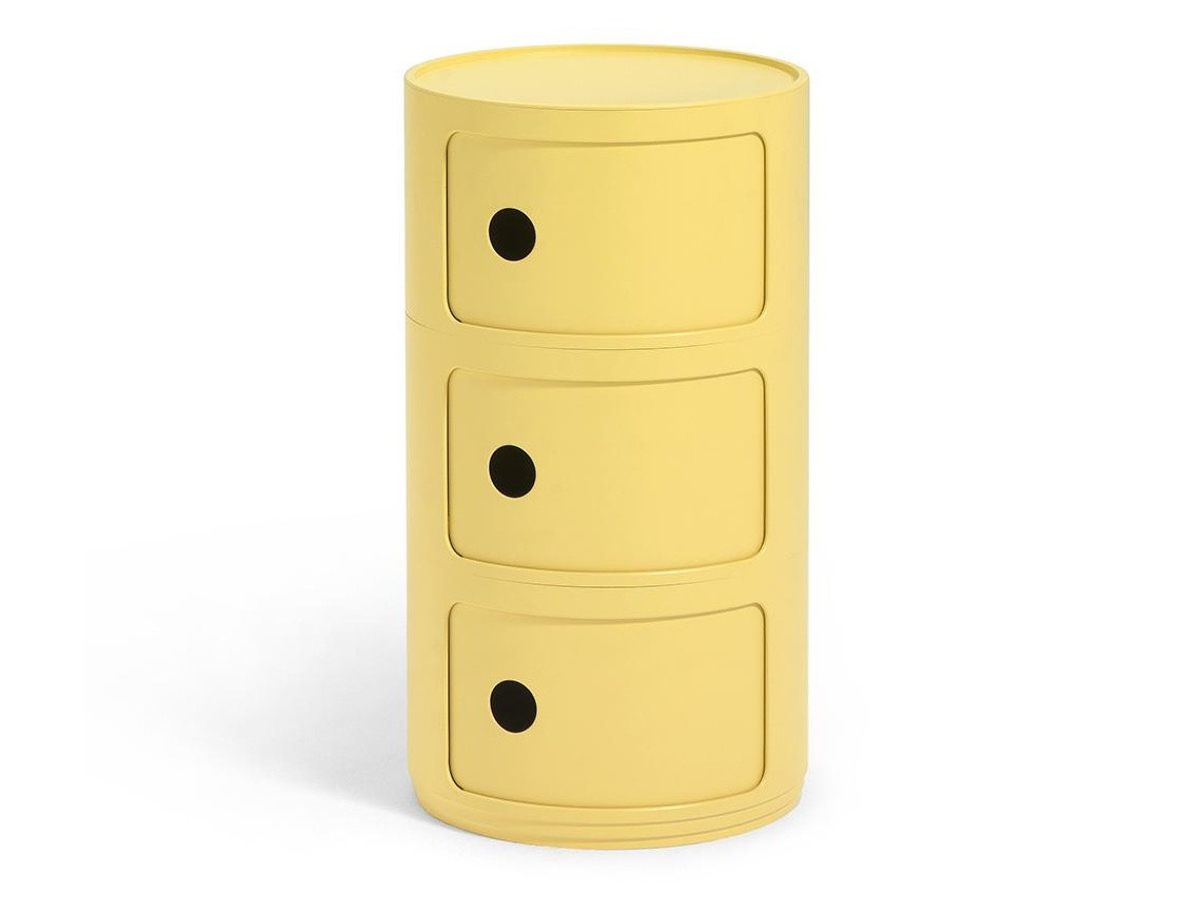 Kartell - Componibili BIo 3 Hæða Yellow