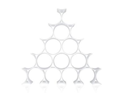 Kartell - Infinity Flöskurekki White