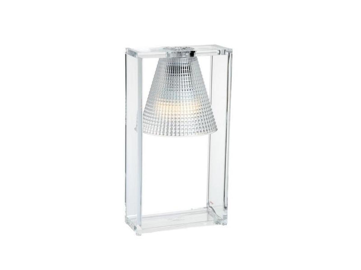 Kartell - Light Air Borðlampi Crystal